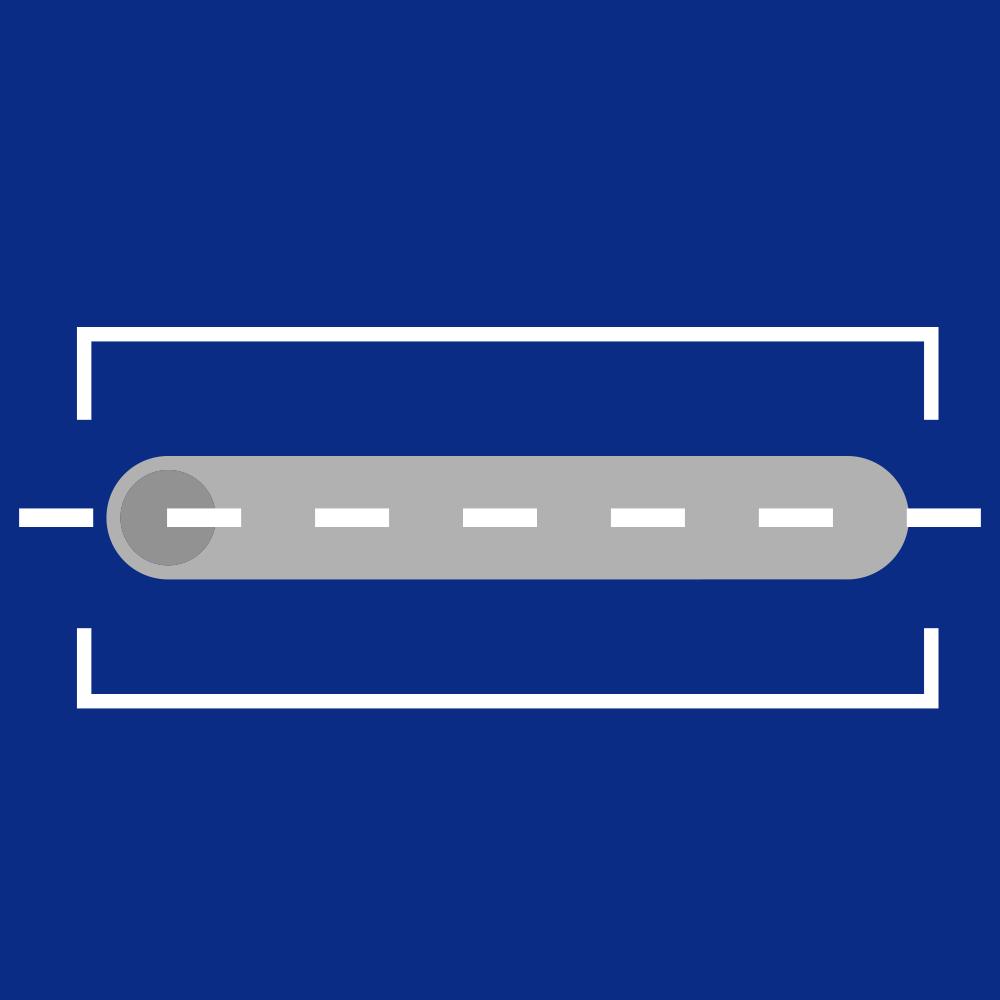 straight bars cap icon